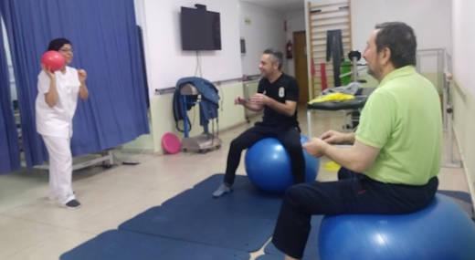Fisioterapia en grupo