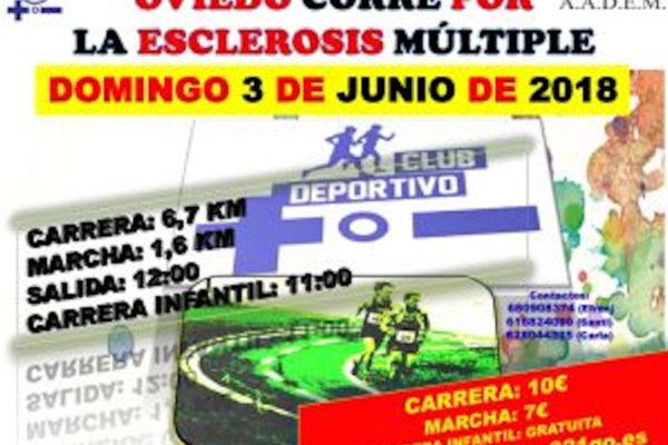 II Carrera poular Oviedo corre por la Esclerosis Múltiple