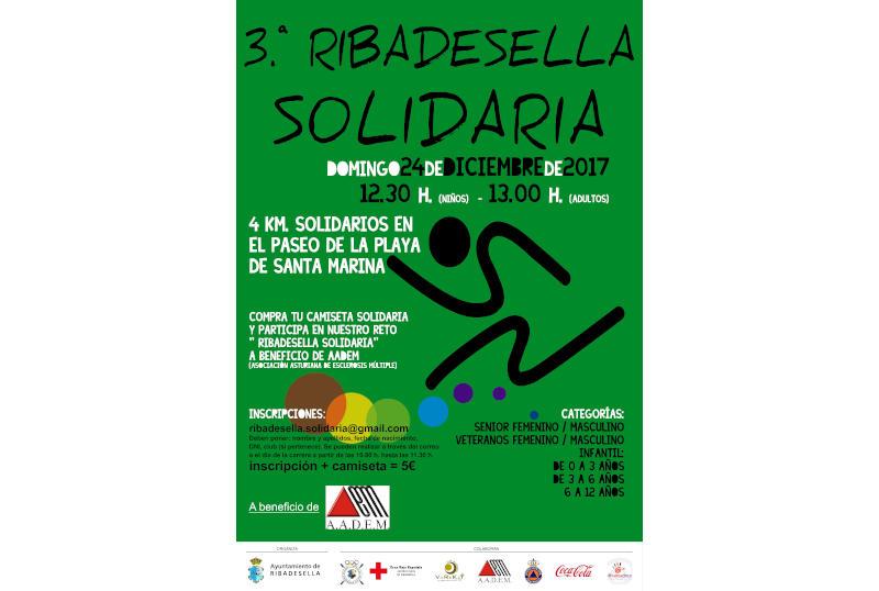 Cartel tercera Ribadella solidaria