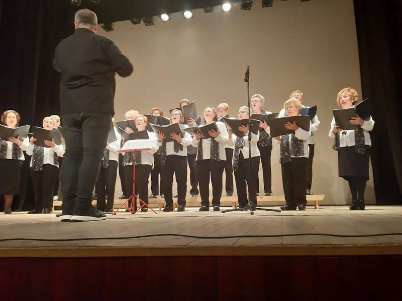 Actuaciónde un coro