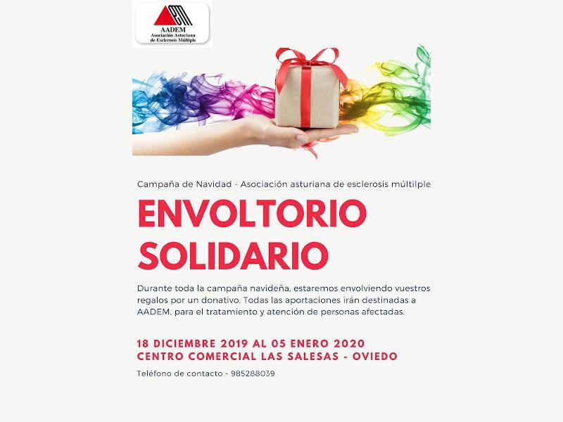 Cartel Campaña envoltorio solidario