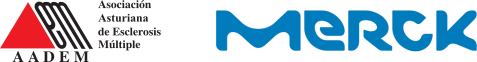 Logotipos AADEM y Merck