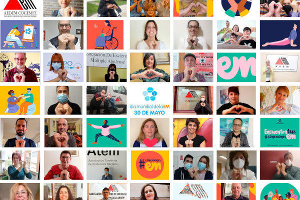 Cartel día mundial esclerosis múltiple 2021